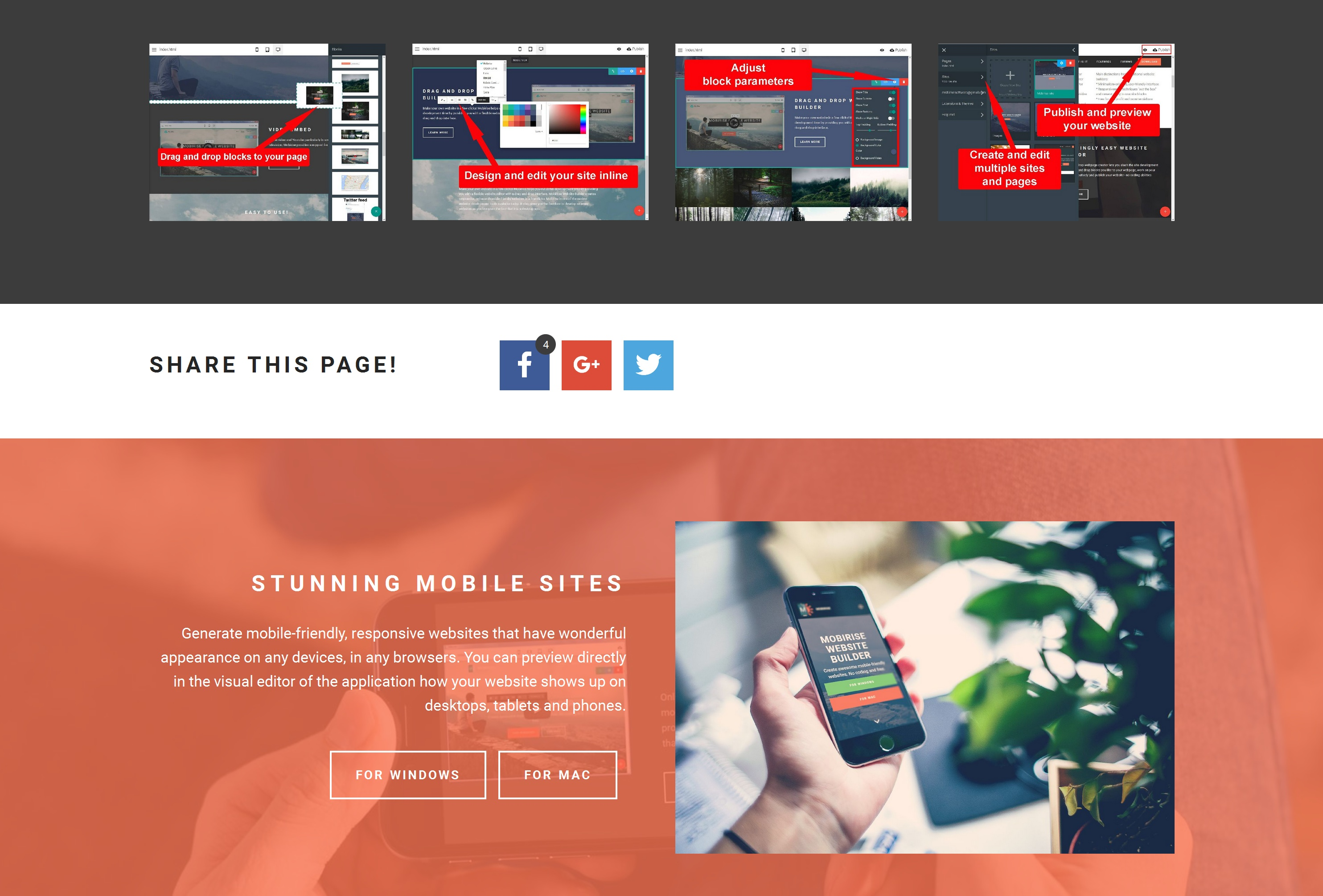 Free Mobile Web Page  Builder Software