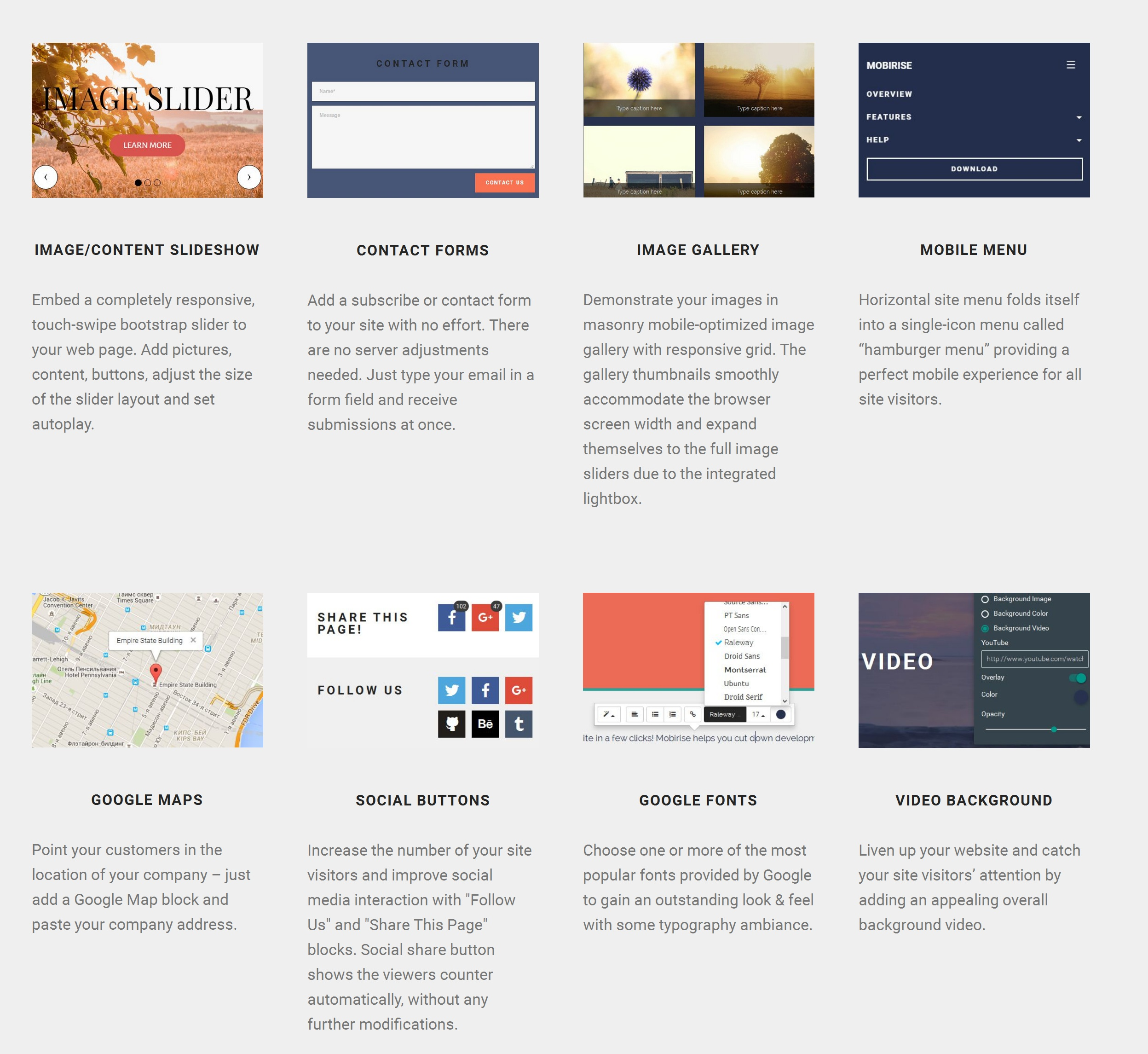 Simple Bootstrap Web Page  Builder Software