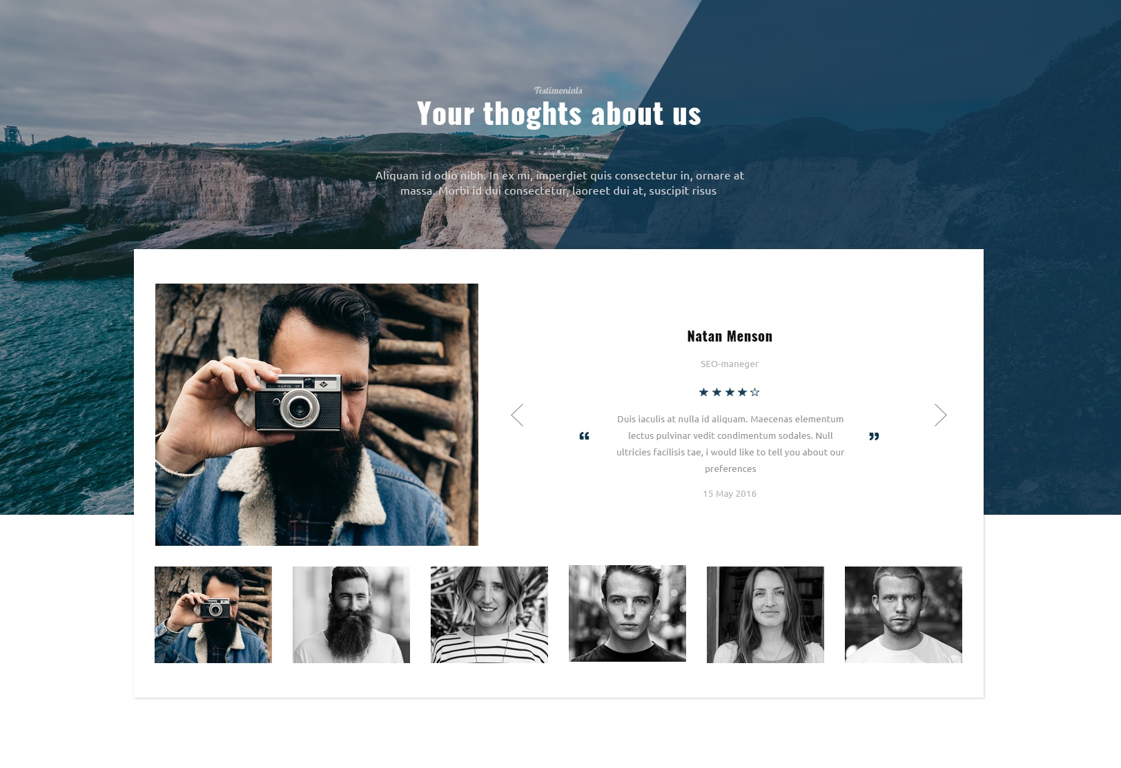 Free Download Bootstrap Blog Theme