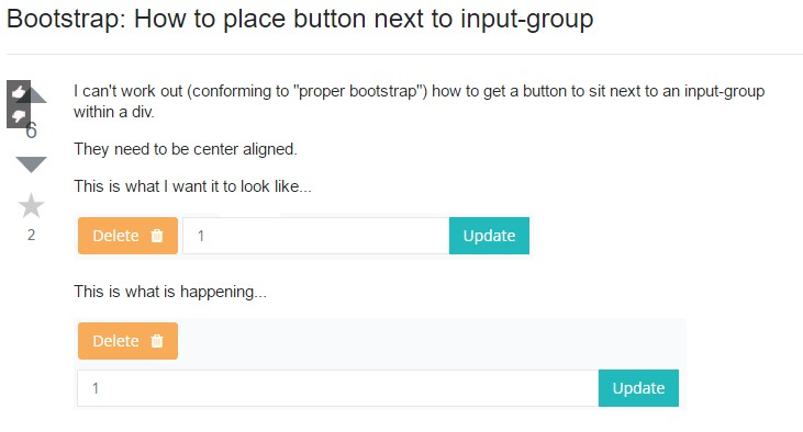 Ways to  insert button  unto input-group